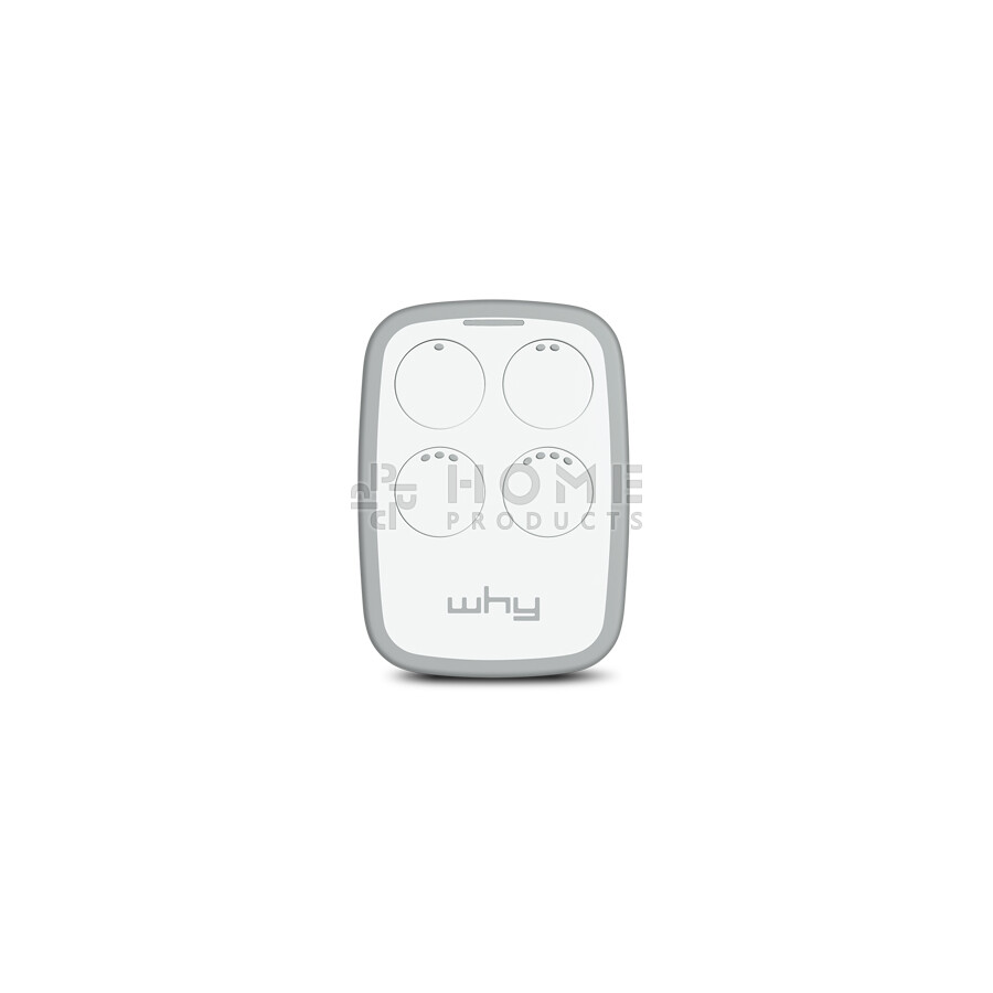 Why Evo 2nd generation universal remote control (replacement remote), Magnolia White