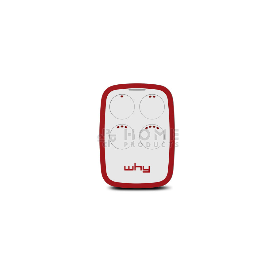 Why Evo 2nd generation universal remote control (replacement remote), Granade Red